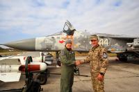 Ukraine - Air Force Airport Employee - Aviation theme Starokostyantyniv - (UKLS), Ukraine 44 WHITE cn:1041650 Октябрь 12, 2018  Sergey Smolentsev
