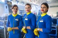 Ukraine International Airlines Steward - Aviation theme Borispol - Kiev - (UKBB / KBP), Ukraine  cn: Март 24, 2019  Dmitry Birin