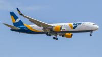 Azur Air Ukraine Boeing 767-330(ER) Borispol - Kiev - (UKBB / KBP), Ukraine UR-AZK cn:28139 Апрель 27, 2019  Oleksandr Vaga