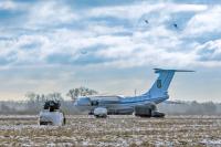 Ukraine - Air Force Ilyushin Il-76MD Ozernoye - Zhitomir - (UKKO), Ukraine 76732 cn:0073476296 Декабрь 6, 2018  Vladimir Vorobyov