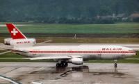 Balair McDonnell Douglas DC-10-30 Zurich - (LSZH / ZRH), Switzerland HB-IHK cn:46998 Август 27, 1988  Torsten Maiwald