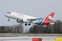 Yamal Airlines Sukhoi SSJ-100-95B-LR Superjet 100 (RRJ-95B) Roshchino - Tyumen - (USTR / TJM), Russia RA-89072 cn:95115 Апрель 30, 2019  Maxim Golbraykht