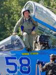 Ukraine - Air Force Crew - Aviation theme Ivano-Frankovsk - (UKLI / IFO), Ukraine 58 BLUE cn:36911035612 Июль 17, 2017  Vladimir Vorobyov