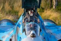 Ukraine - Air Force Sukhoi Su-27UBM1 Ivano-Frankovsk - (UKLI / IFO), Ukraine 71 BLUE cn:24043 Июль 22, 2019  Vladimir Vorobyov