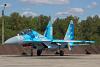 Ukraine - Air Force Sukhoi Su-27UBM1 Ivano-Frankovsk - (UKLI / IFO), Ukraine 71 BLUE cn:24043 Август 19, 2019  Vladyslav Kovtun