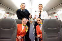 SkyUP Airlines Crew - Aviation theme Danylo Halytskyi - Lviv - (UKLL / LWO), Ukraine  cn:  2019  Yura Tanchyn