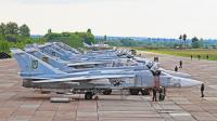 Ukraine - Air Force Su-24M Vyshkiv - Lutsk, Ukraine 66 WHITE cn:0715336  2016  Sergey Smolentsev