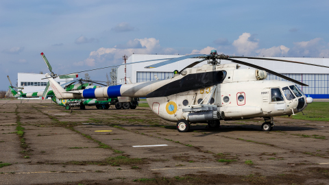 Ukraine - Army Mil Mi-8MT Dnepropetrovsk - Dnipro - (UKDD / DNK), Ukraine 63 YELLOW cn: Апрель 15, 2014  Pavel Kapustin