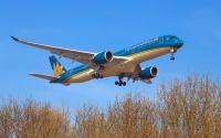 Vietnam Airlines Airbus A350-941 Borispol - Kiev - (UKBB / KBP), Ukraine VN-A896 cn:192 Март 29, 2020  Oleg V. Belyakov
