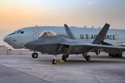 USA - Air Force Lockheed Martin F-22A Raptor World Central Intl - Dubai - (OMDW / DWC), United Arab Emirates 10-4192 cn:645-4192 Ноябрь 18, 2019  Oleg V. Belyakov