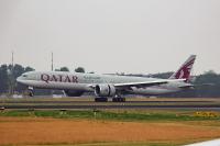 Qatar Airways Boeing 777-3DZ(ER) Tegel - Berlin - (EDDT / TXL), Germany A7-BAZ cn:41781 Июнь 2, 2018  Slupitskyi M