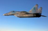 Ukraine - Air Force Mikoyan-Gurevich MiG-29 (9-13) In Flight, Ukraine 20 BLUE cn:2960728165 Сентябрь 25, 2012  Dmytryi Muravskyi