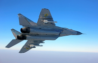 Ukraine - Air Force Mikoyan-Gurevich MiG-29 (9-13) In Flight, Ukraine 07 BLUE cn:2960728502 Сентябрь 25, 2012  Dmytryi Muravskyi
