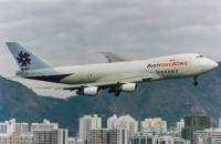 Air Hong Kong Boeing 747-2L5B(SF) Kai Tak Intl (closed) - Hong Kong - (VHHH / HKG), Hong Kong VR-HME cn:22106 Декабрь 10, 1996  Torsten Maiwald