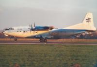 Volare Aircompany Antonov An-12BP Oostende - Ostend - (EBOS / OST), Belgium UR-LTG cn:00347201 Февраль 12, 2000  Torsten Maiwald