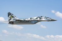Ukraine - Air Force Mikoyan-Gurevich MiG-29MU1 Danylo Halytskyi - Lviv - (UKLL / LWO), Ukraine 19 WHITE cn:    Trenin Oleksii
