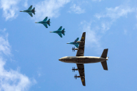 Ukraine - Air Force (Antonov Design Bureau) Antonov An-70 Off-Airport - Kiev, Ukraine 02 BLUE cn:770102 Август 22, 2021  Oleksandr Smerychansky