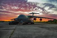 Ukraine - Air Force Ilyushin Il-76MD , Ukraine 76697 cn:0063470118  2021  Vladimir Vorobyov