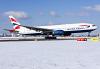 British Airways Boeing 777-236(ER) Stuttgart - (EDDS / STR), Germany G-YMMS cn:36517 Февраль 11, 2021  Torsten Maiwald