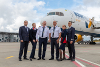 Azur Air Ukraine Crew - Aviation theme Osnova - Kharkov - (UKHH / HRK), Ukraine UR-AZP cn:30178 Сентябрь 23, 2021  Ivan Ponomarenko