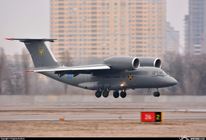 """""""Антонов"""" передал Нацгвардии патрульный самолет Ан-72П - Цензор.НЕТ 2647"""